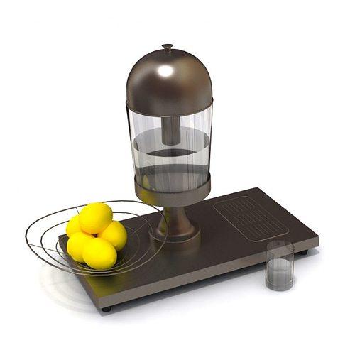 Archmodel Juice Maker 3d Model Obj