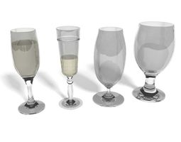 Glassware 3D model