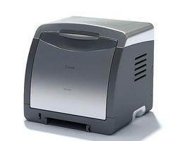 office printer appliance 3d model
