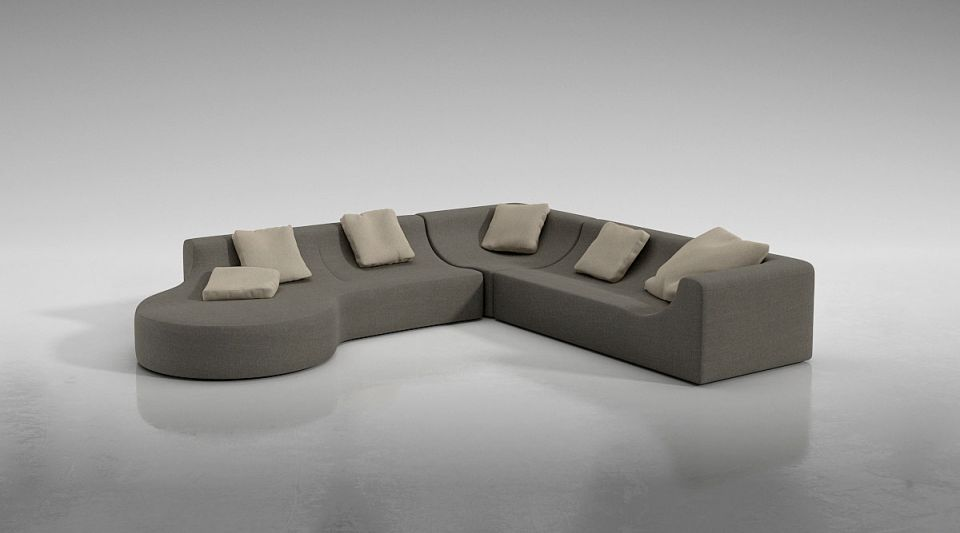 3d Sofa Full Cotton Sofa Set Cgtrader
