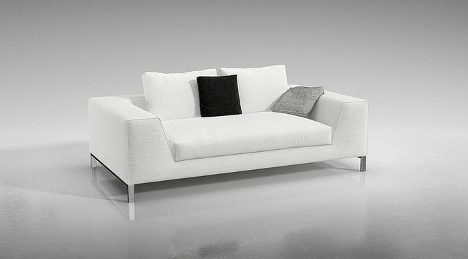 3d modern white couch cgtrader rh cgtrader com modern white sofas for sale modern white sofa decorating