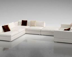 Furniture white 3D