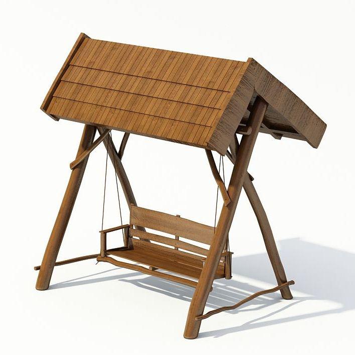 Swing Garden 3d Model 1