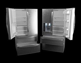 Refrigerator Bottom Drawer Freezer 3D model