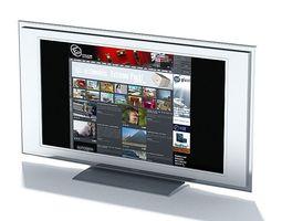 3D model Flat Television Screen