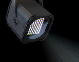 3D model Laser Effect Spotlight