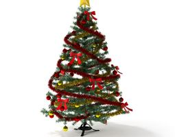 3D Artificial Christmas Tree