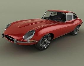 3D Jaguar E-type Coupe Mk1