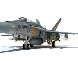3D F-18C
