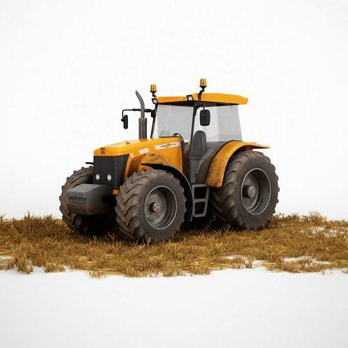 agriculture vehicle truck 3d model obj 1