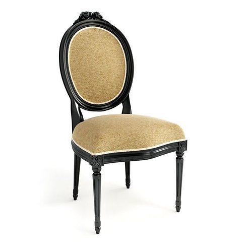 antique chair 3d model obj 1 - 3D Furniture Antique Chair CGTrader