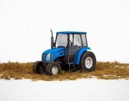 3d model farm tractor