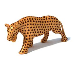 african   decorative panther 3d