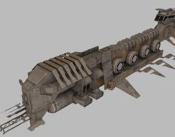 Exploration Spaceship 3D model