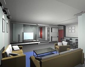 3D model model Living Room