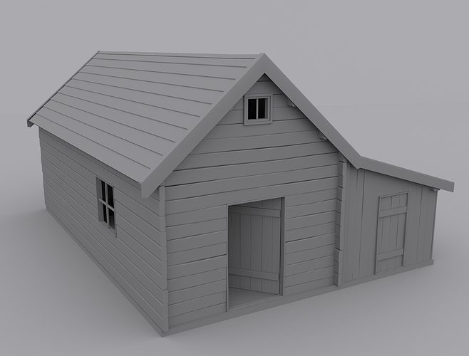 Old House 3d Model Max
