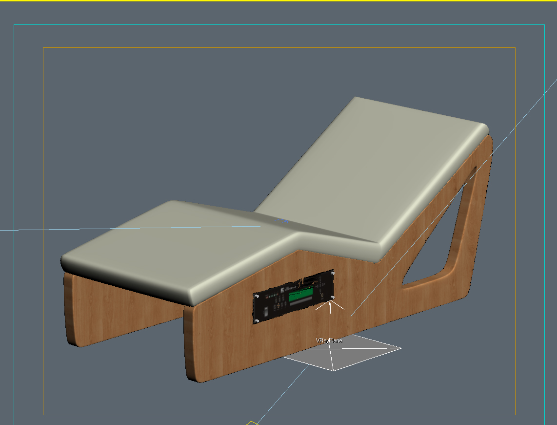 Massage tables 3d model max for Transmutation table 85 items
