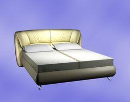 designer Bed Model 3D