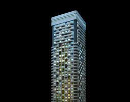 3D model House Apartment Big