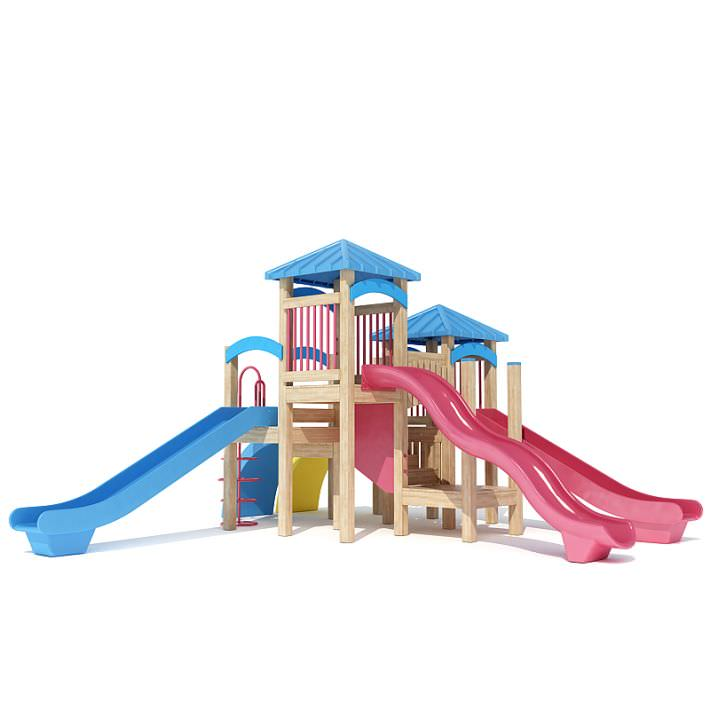 Kid s Playhouse Magenta And Blue