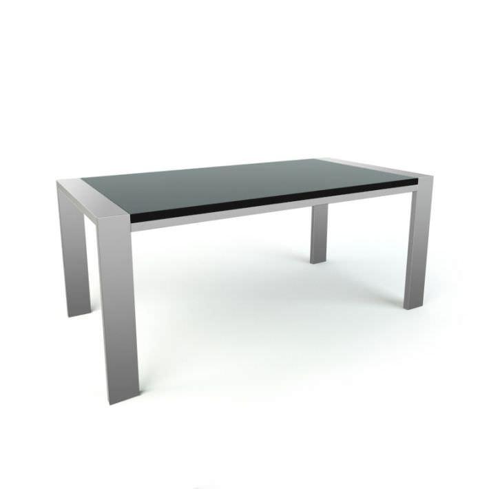 Sleek Coffee Table 3d Model Obj 1
