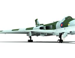vulcan b2 3d model