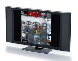 3d flat panel television