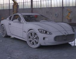 Car   Maserati Gt 3D Model