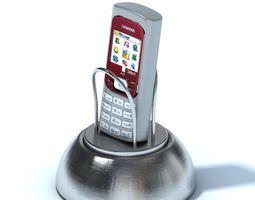Old Cellphone Holder 3D model