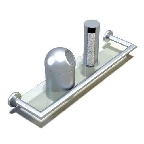 Bathroom gadgets with ultra modern look 3d model - Five modern gadgets for a functional bathroom ...