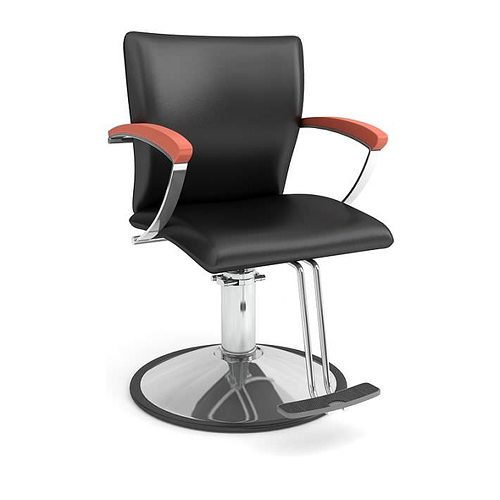 Black Beauty Parlor Chair 3D Model