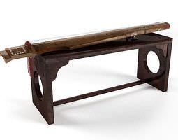 Sword On A Table 3D