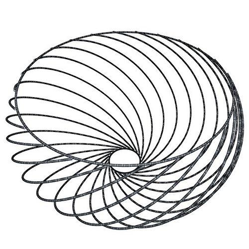 3D Oranges in Metal Wire Decorative Basket | CGTrader
