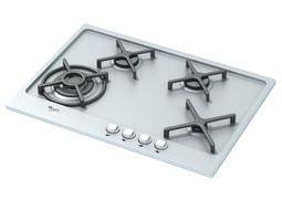3D model Glass Gas Cook Top Appliance
