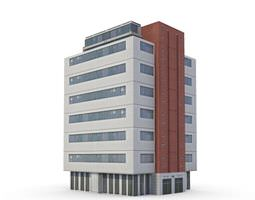 3D model Building Business Modern