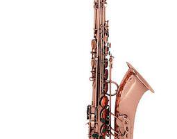 3D Brass Tenor Saxophone