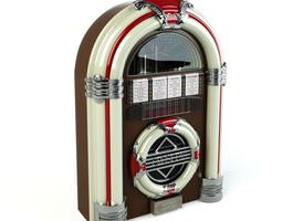 3D model Retro Classic Jukebox