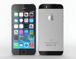 electronics Iphone 5s 3d Model