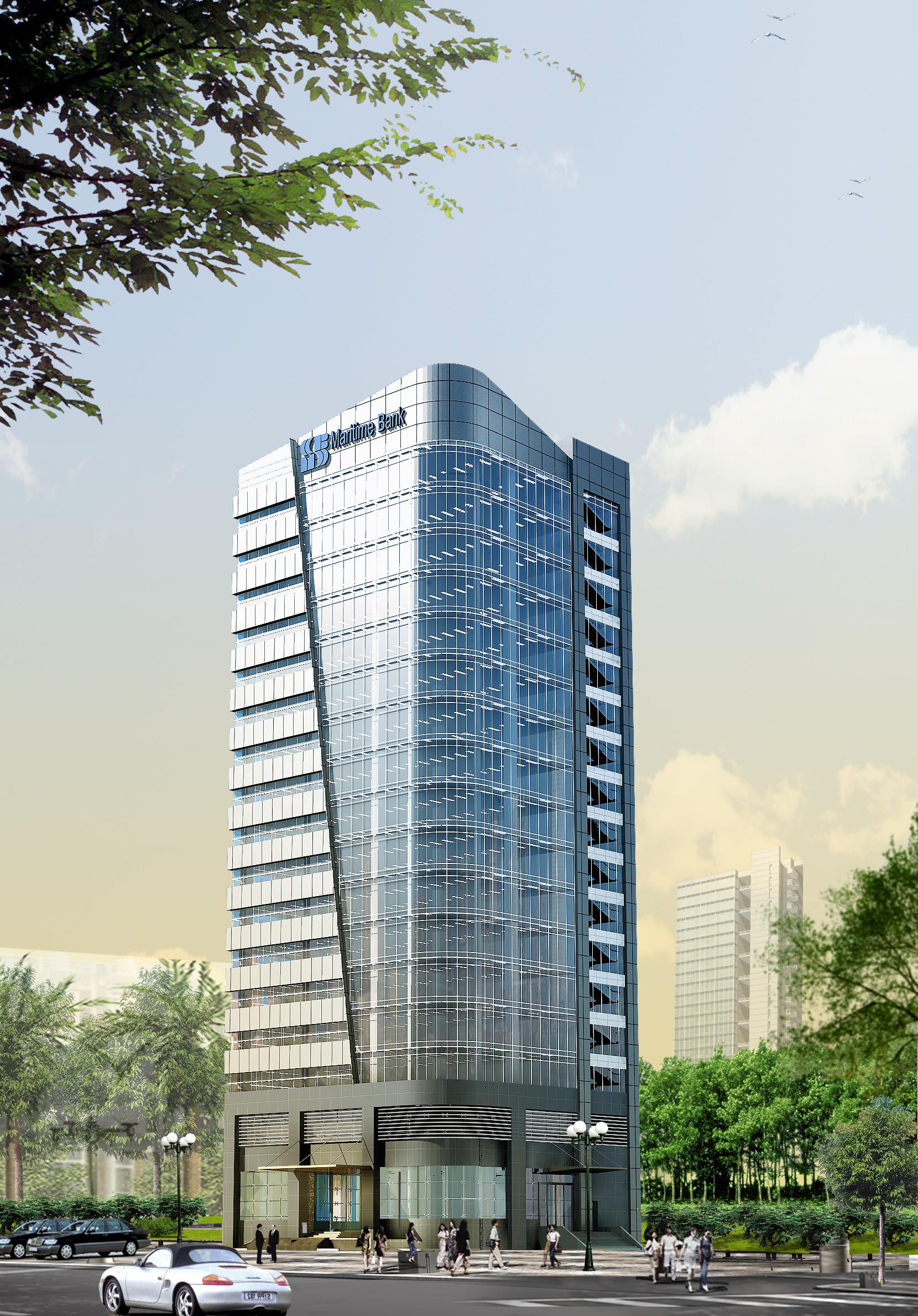 3d models skyscraper bank building 3d model max obj mtl - 3d max models free download exterior ...