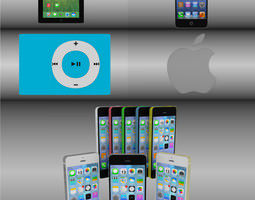 3D model Ultimate Apple bundle