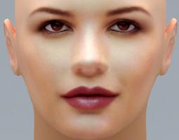 Catherine Zeta Jones 3D model