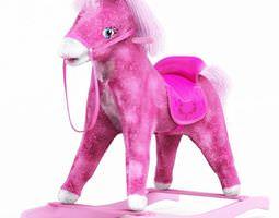 Pink Pony Toy 3D Model