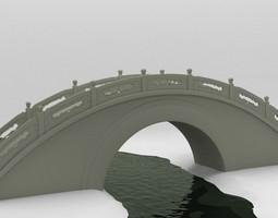 Moon Bridge 3D model