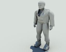 mali fat boy 3D Model