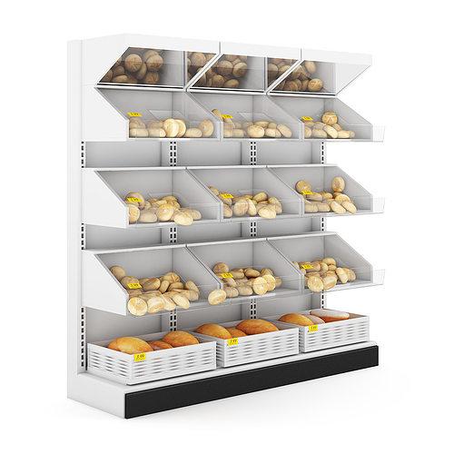 bread shelf 3d model max obj mtl fbx c4d 1