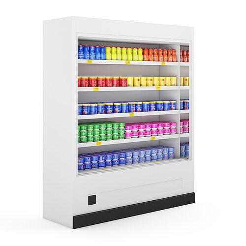 refrigerator 3d model max obj fbx c4d mtl 1