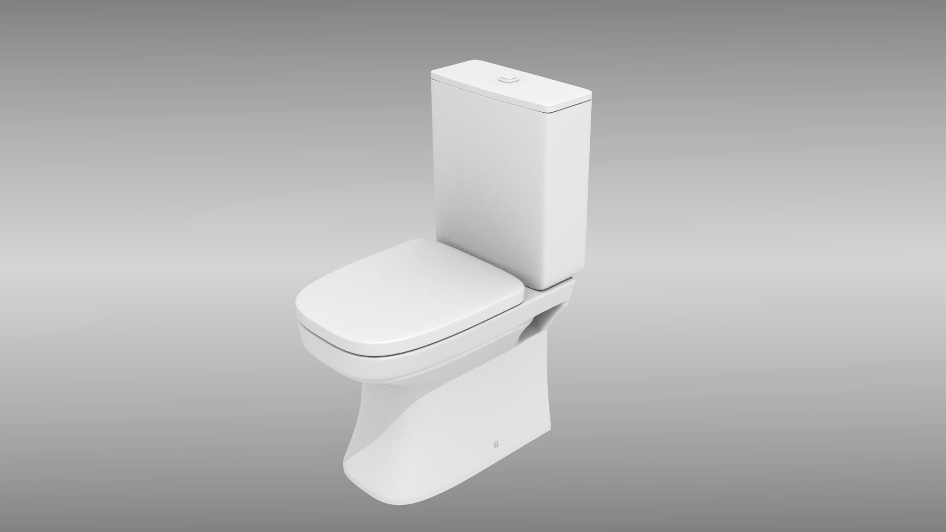 Toilet 3d Model Obj 3ds Fbx Stl Dae Mtl Cgtrader Com