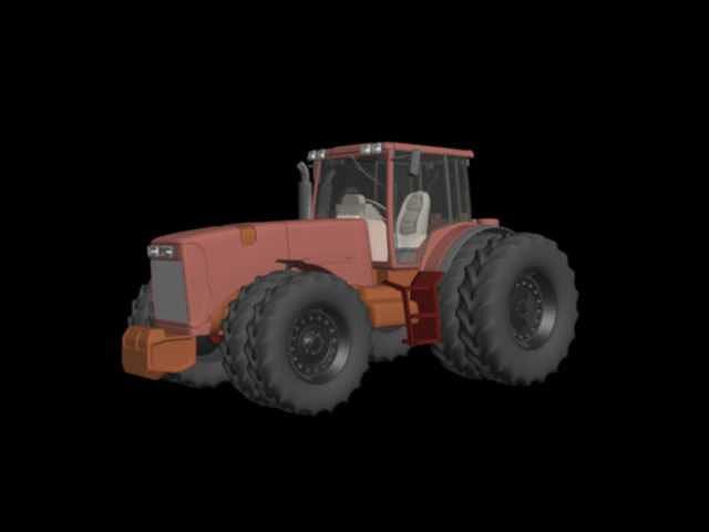 truck 3d model ma mb 1