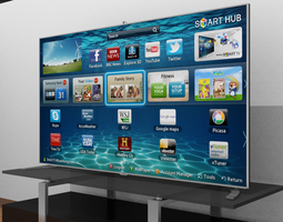 Samsung Smart TV 39876 3D model