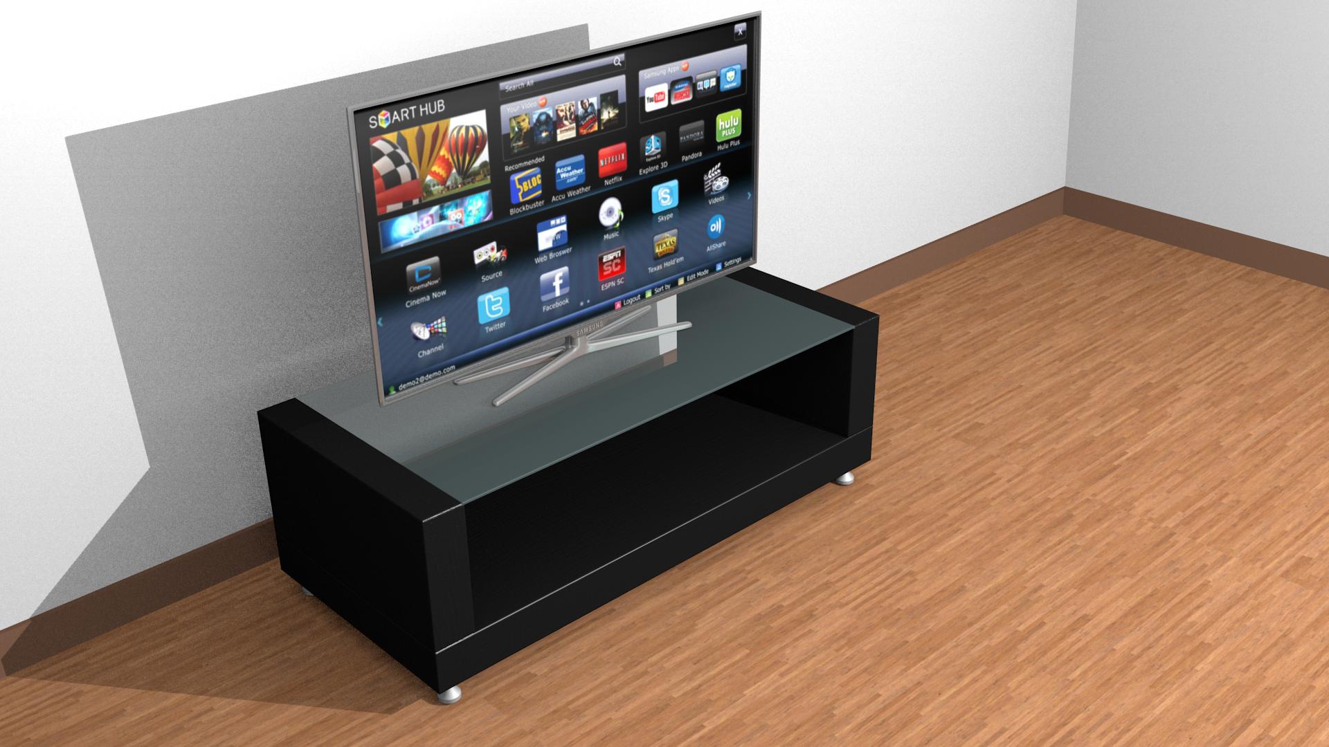 Samsung Smart Tv 3d Model Cgtrader